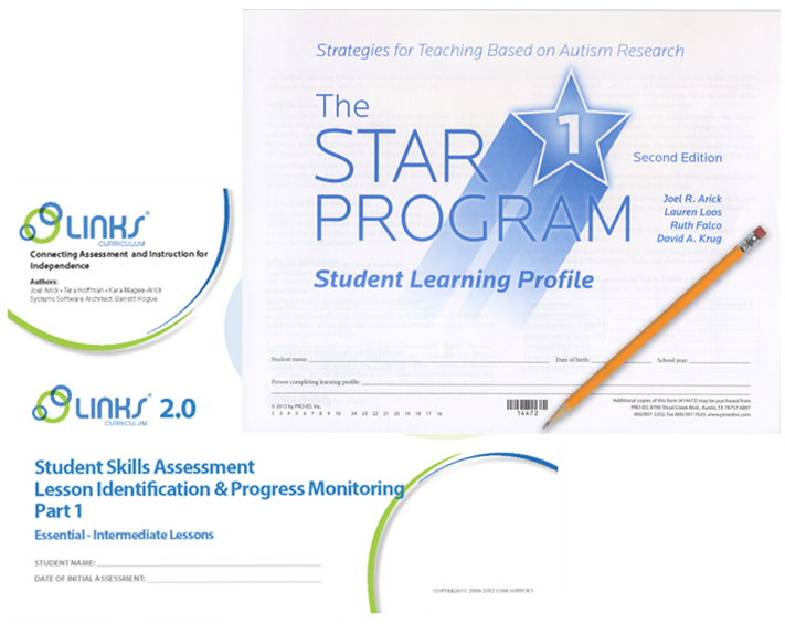 STAR Student Learning Profile and Links Student Assessment Photo